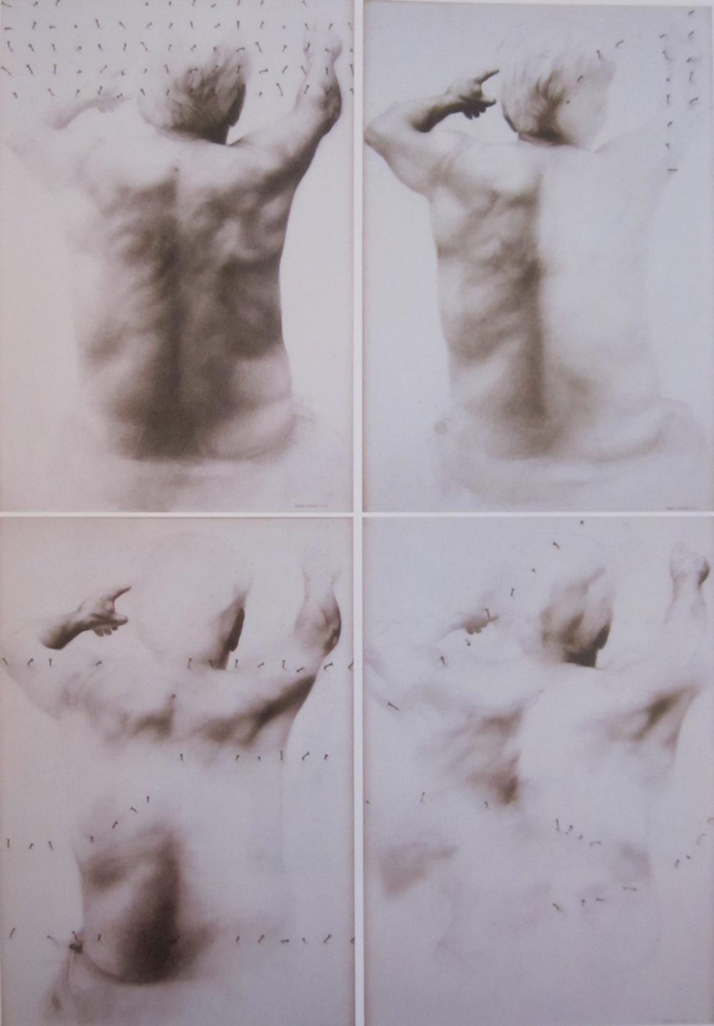 Dibujo en cuatro piezas (100 cm x 140 cm cada uno) 9.000 - €