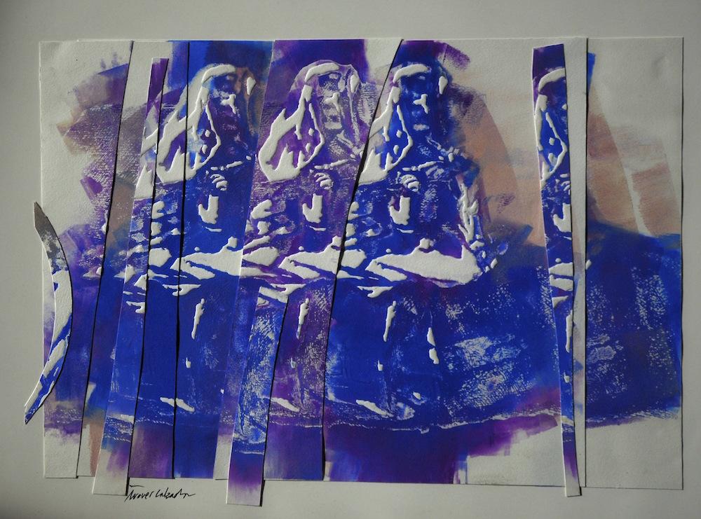 Etching  (77 cm x 60 cm) 1.800 - €