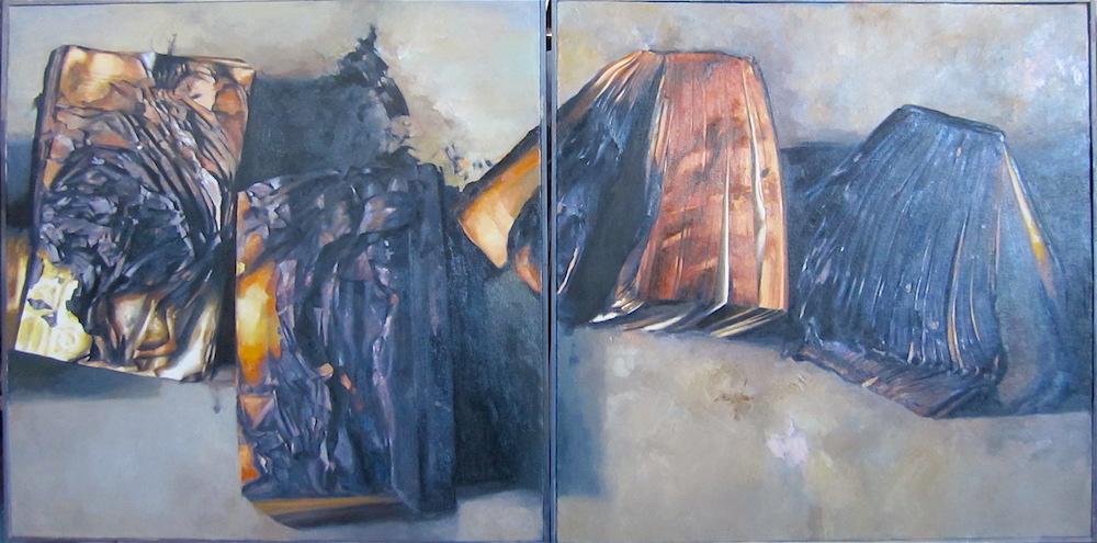 Diptych (230 cm x 115 cm) 15.000 - €