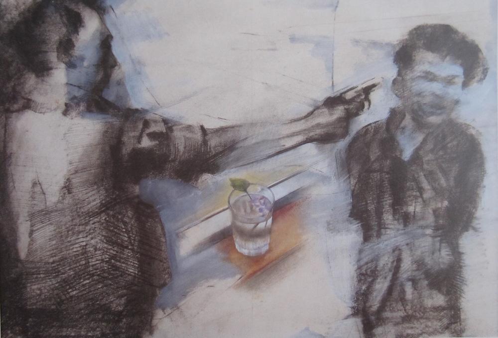 Graphite and pastel (87 cm x 59 cm) 6.000 - €