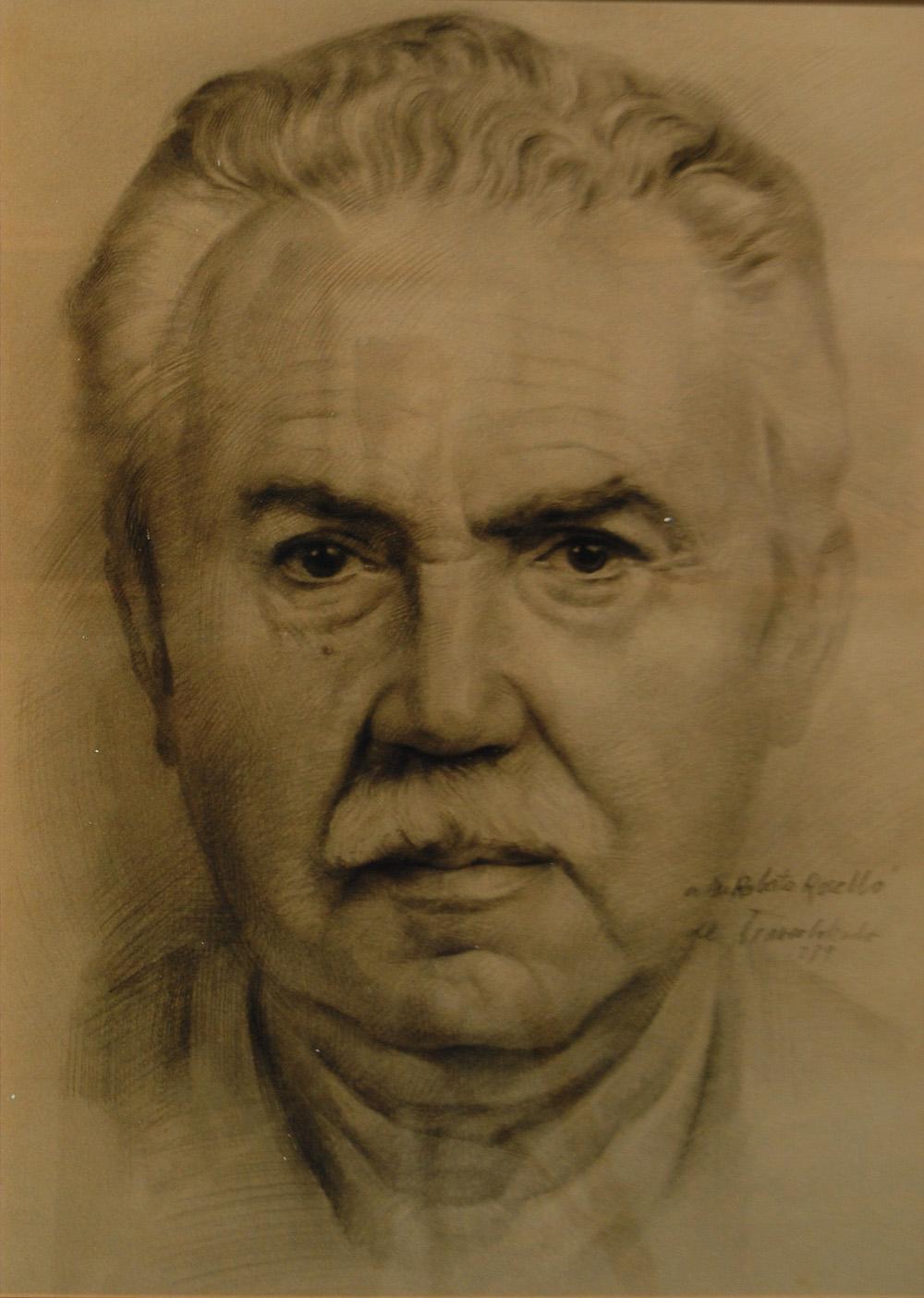 Graphite individual portrait
