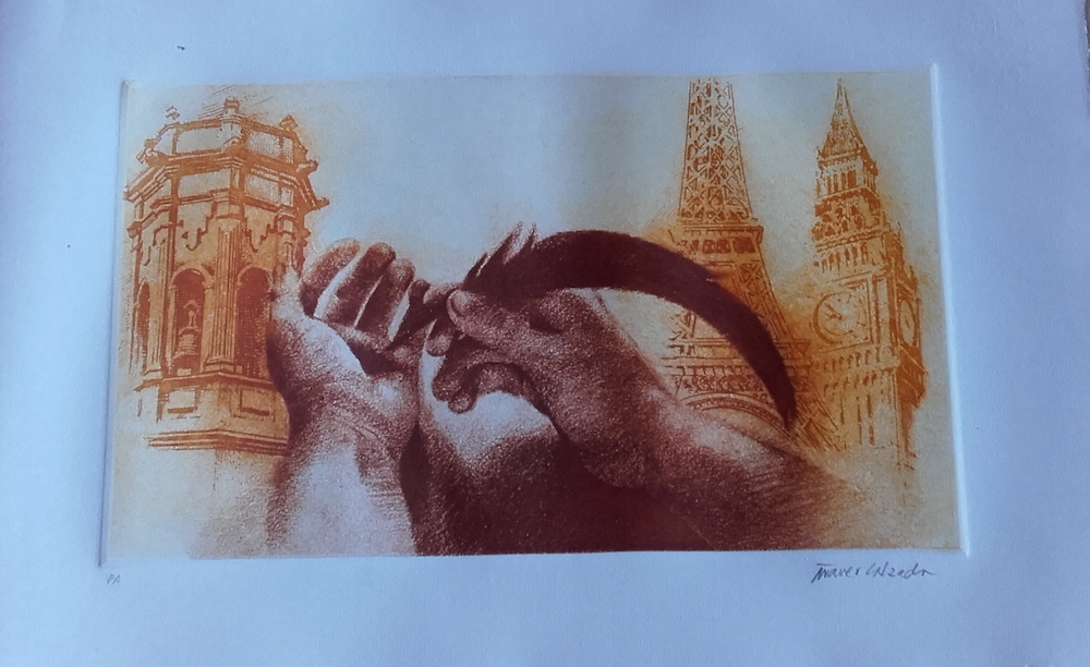 Aguafuerte  (60 x 35 cm) 250 - €
