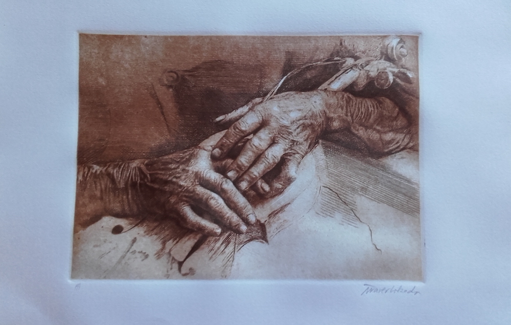 Buril (76 cm x 56 cm) 500 - €