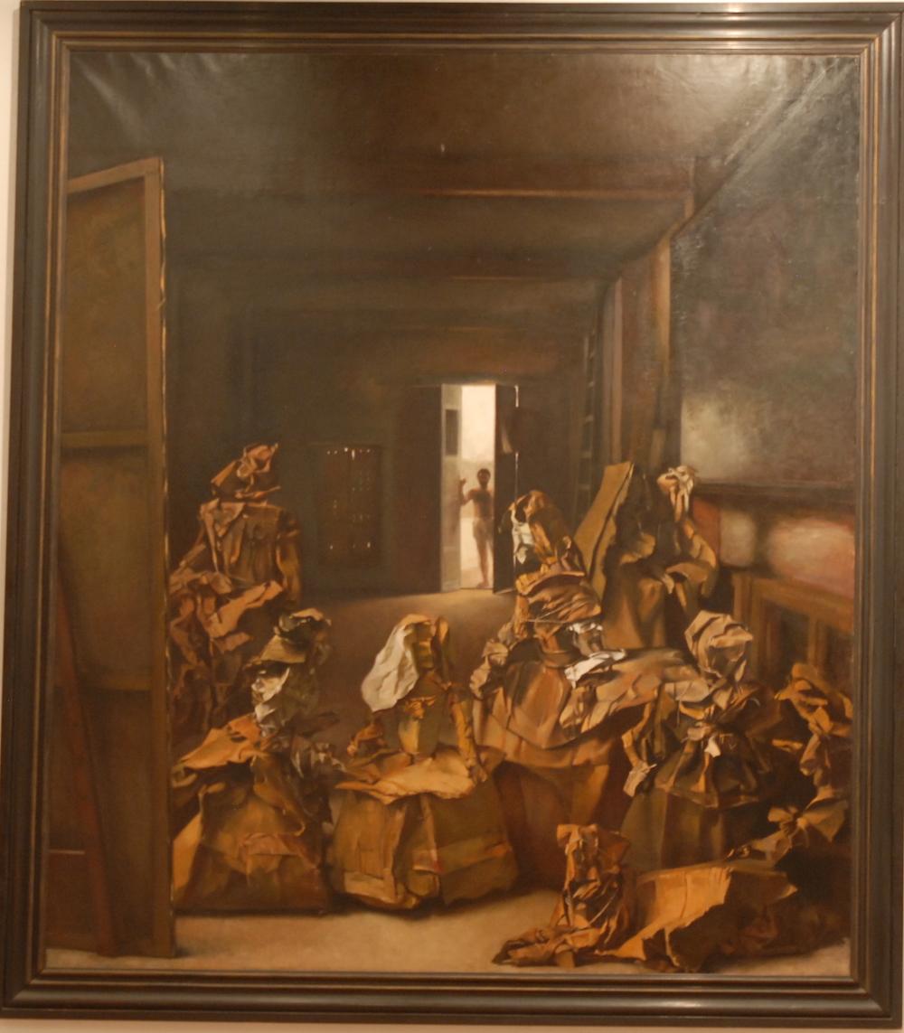 Actualmente prestado al Museo de Arte Contemporáneo de Villafamés para su exposición (265cm x 230cm) 50.000 -€