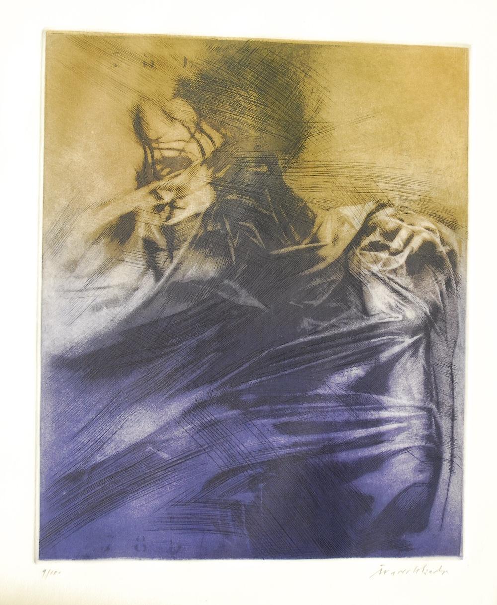 Etching  (56 cm x 76 cm)