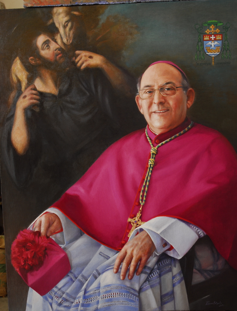 Official portrait of the Bishop Casimiro