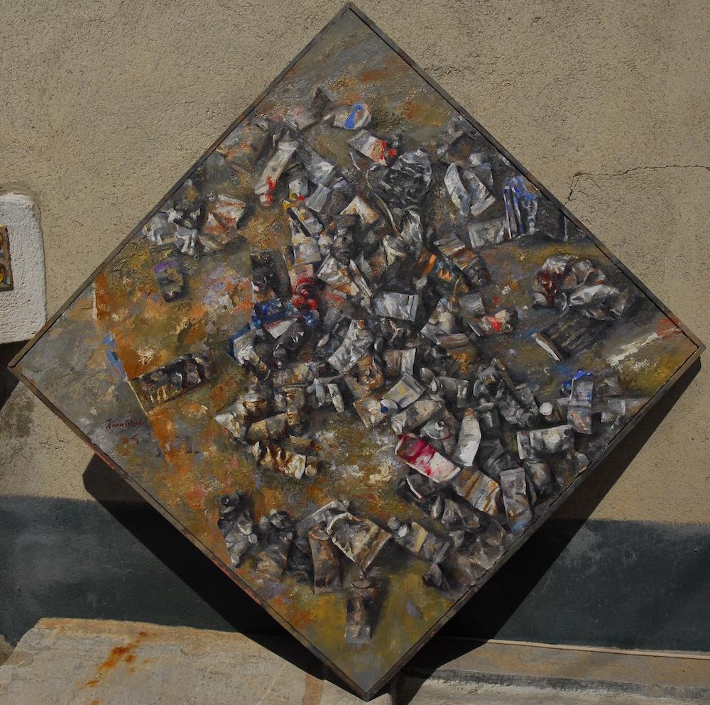 (117 cm x 117 cm) 6.000 - €