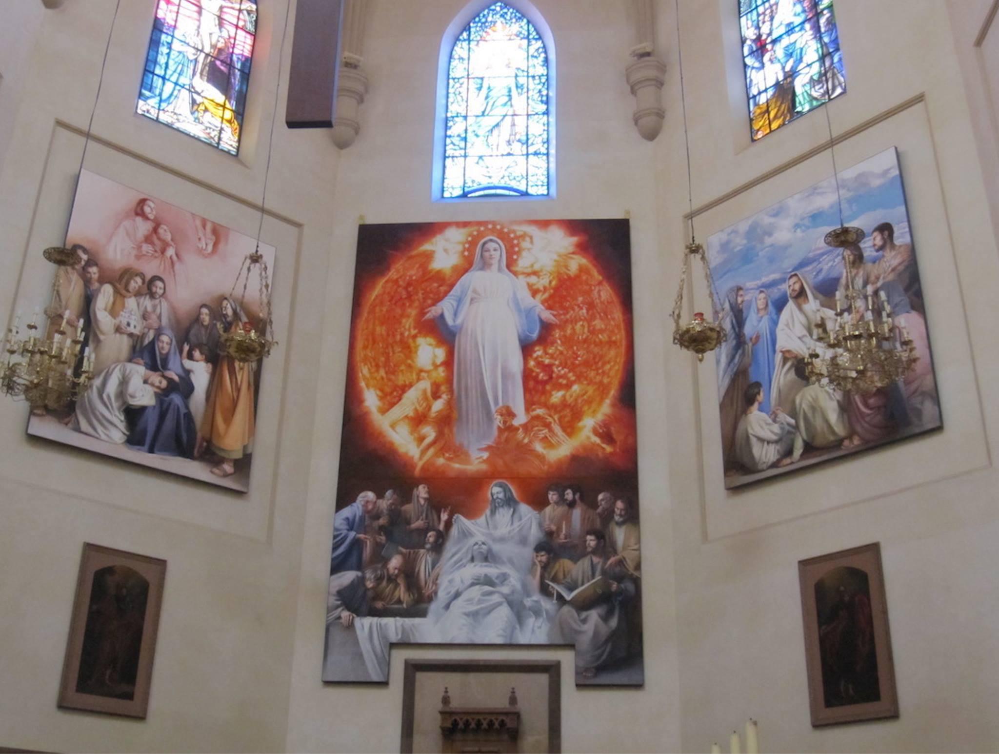 Altar mayor de la Concatedral de Castellón