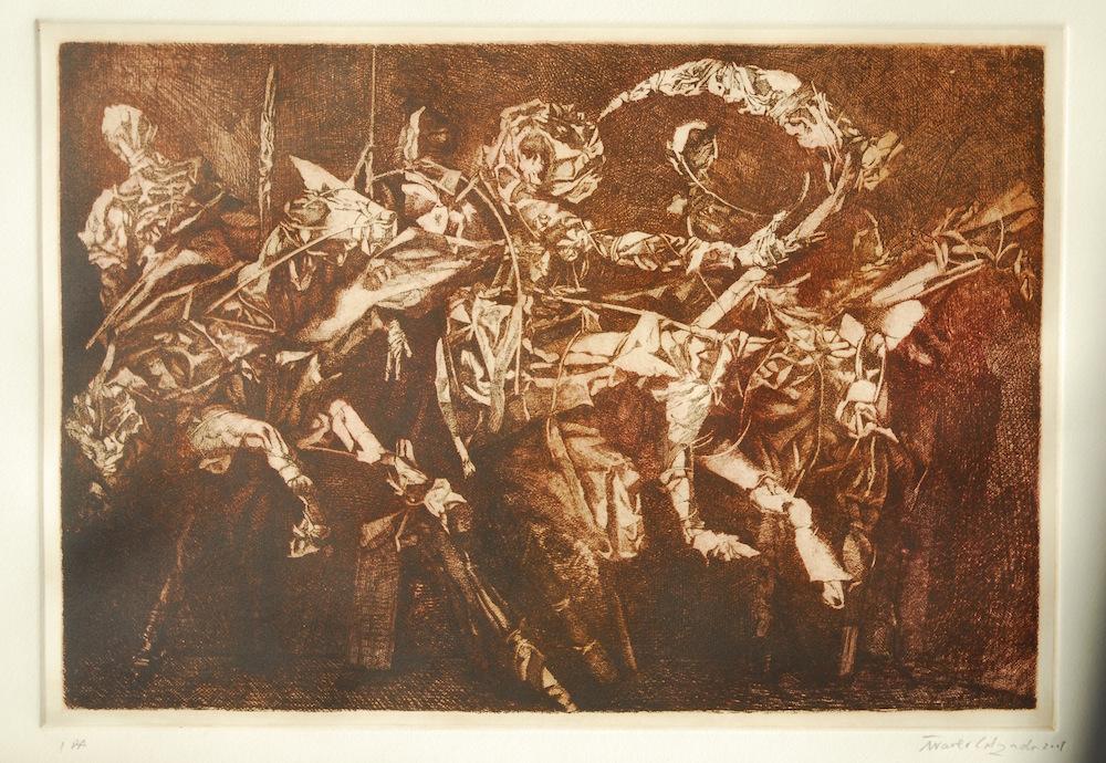 Aguafuerte  (76 cm x 56 cm) 500 - €