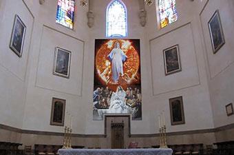 Retablo para el altar mayor de la Concatedral de Santa María de Castellón.