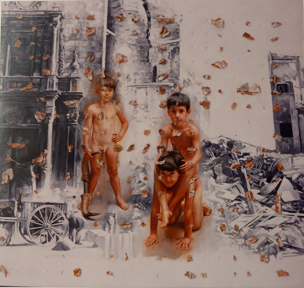 Oil (300 cm x 230 cm)