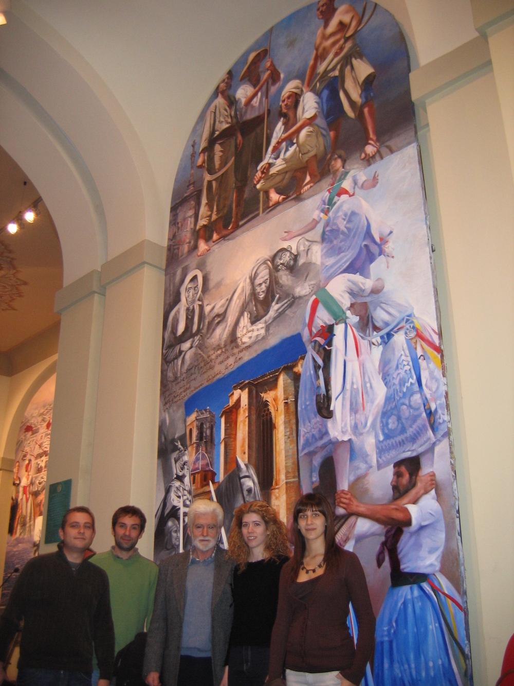 Este mural tiene claras implicaciones sociales y de crónica pretérita con especial referencia a las localidades de San Mateo y Peñíscola.