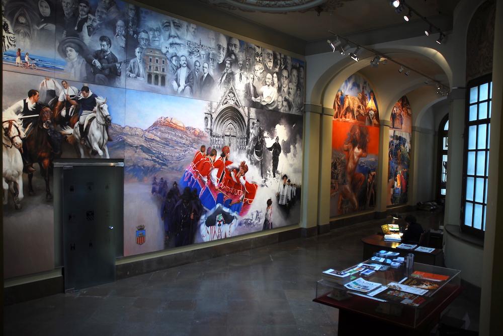 Vista general del Hall de la Diputación
