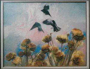 Cuervos-oleo-Traver-Calzada