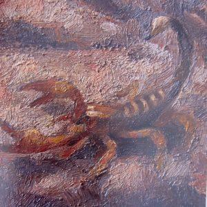 Detalle Escorpión- Murales Diputación Traver Calzada