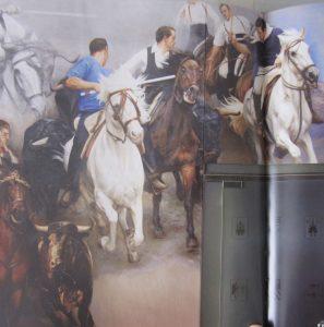 Detalle Murales Diputación Traver Calzada 2